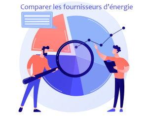comparer les fournisseurs d'énergie