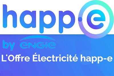 Offre électricité Happ-e